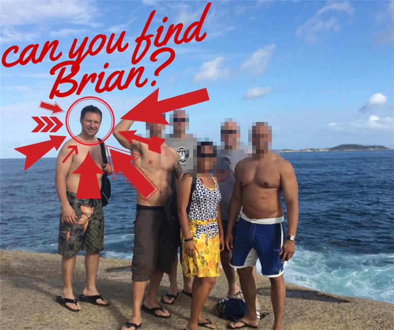 Brian Blurred